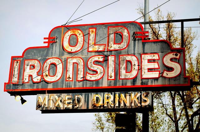 Weathered Old Ironsides