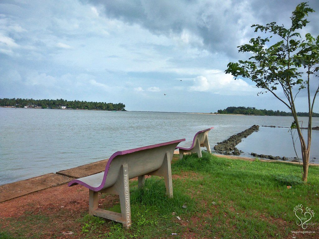 Suvarna river meeting sea