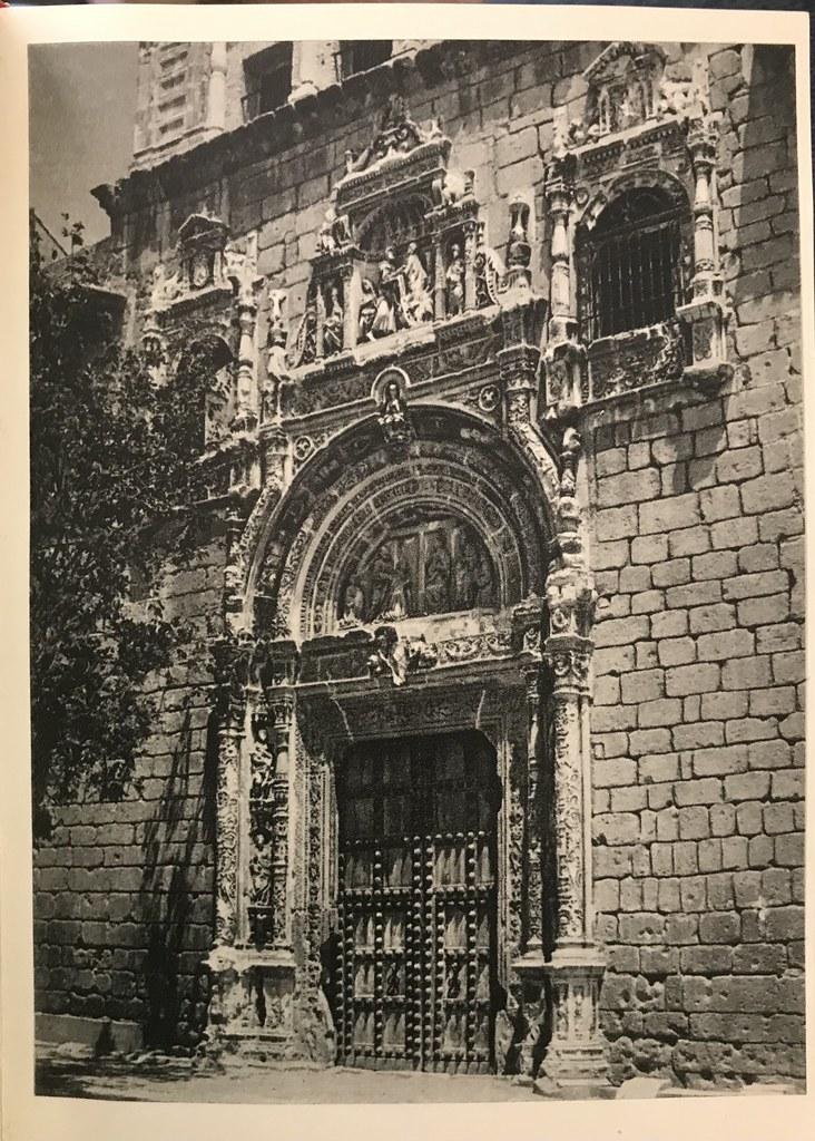 Hospital de Santa Cruz a finales de los años 40. Foto de Afrodisio Aguado