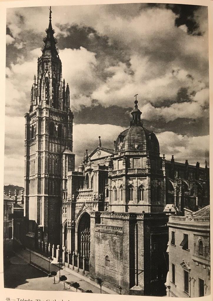 Catedral en los años 50 (hacia 1955). Foto de Afrodisio Aguado