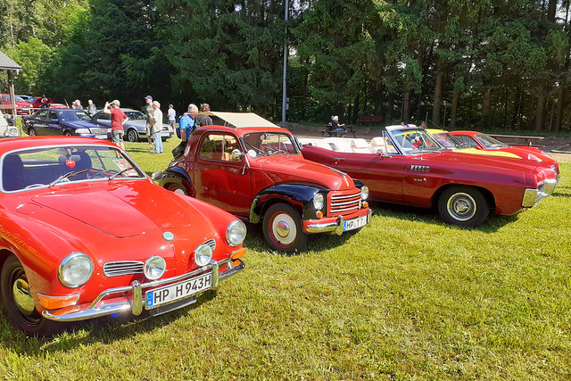 Ende Juni 2021 ... Oldtimer-Treff in Lindenfels-Seidenbuch ... Brigitte Stolle