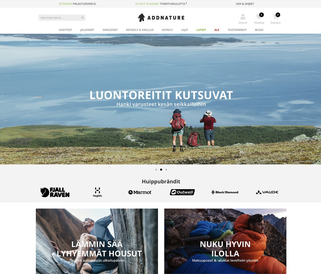 Addnature Website