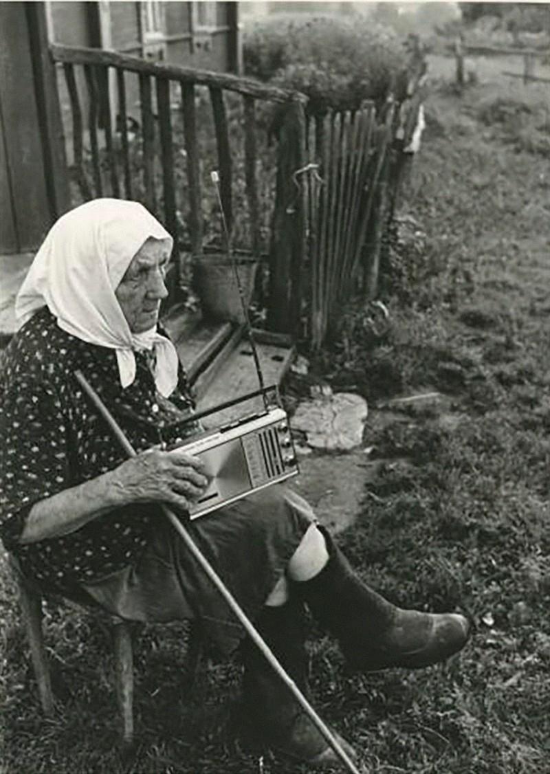 1971. Бабушка Прасковья из деревни Станы