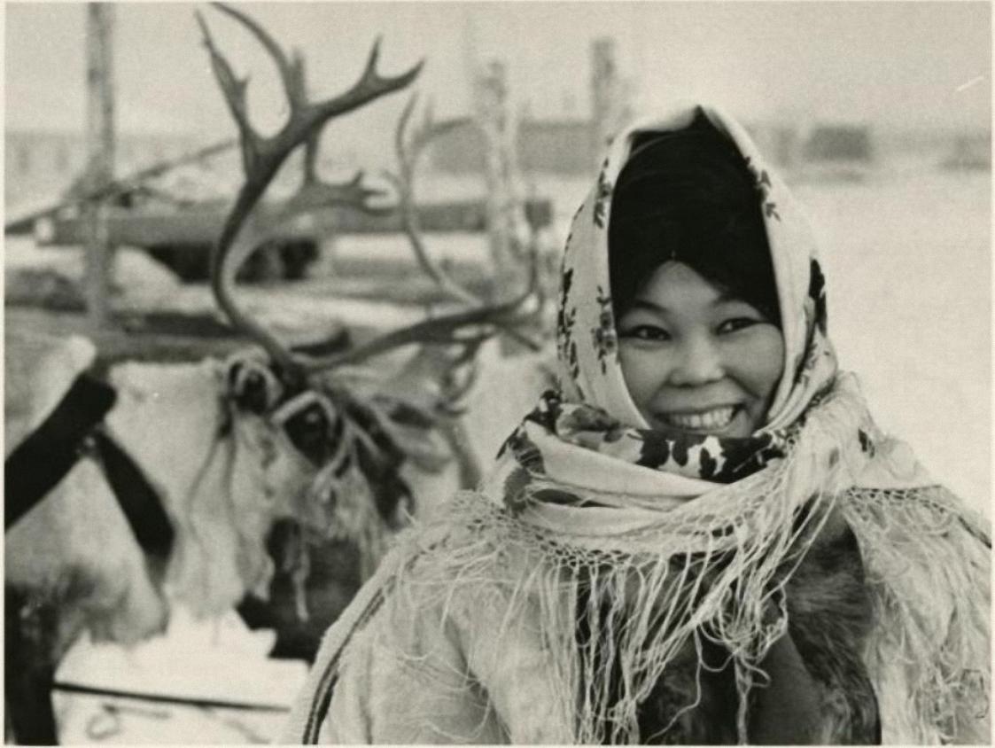 1969. Сибирь. Тарко-Сале. Улыбка Севера