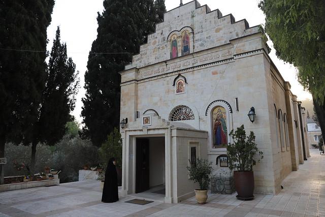 3 февраля 2021, Празднование чтимому образу Божией Матери «Отрада и Утешение» в Горненской обители