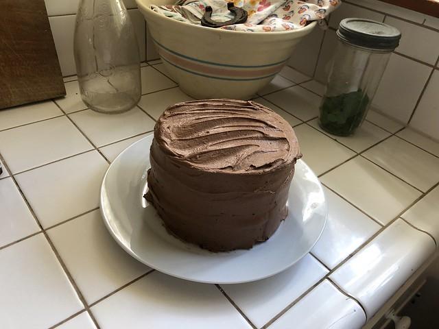 tiny chocolate cake