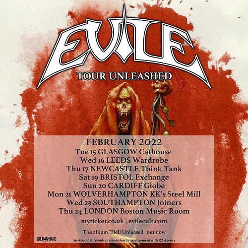 British Thrashers Evile Hit The Road In 2022