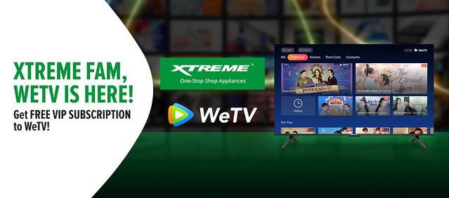 XTREME x WeTV PR Banner