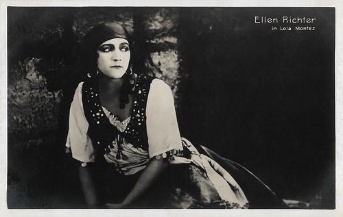 Ellen Richter in Lola Montez
