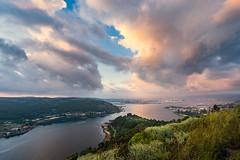 Ría de Ferrol desde la batería de A Bailadora
