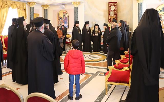 8 января 2021, Рождественское поздравление Иерусалимского Патриарха
