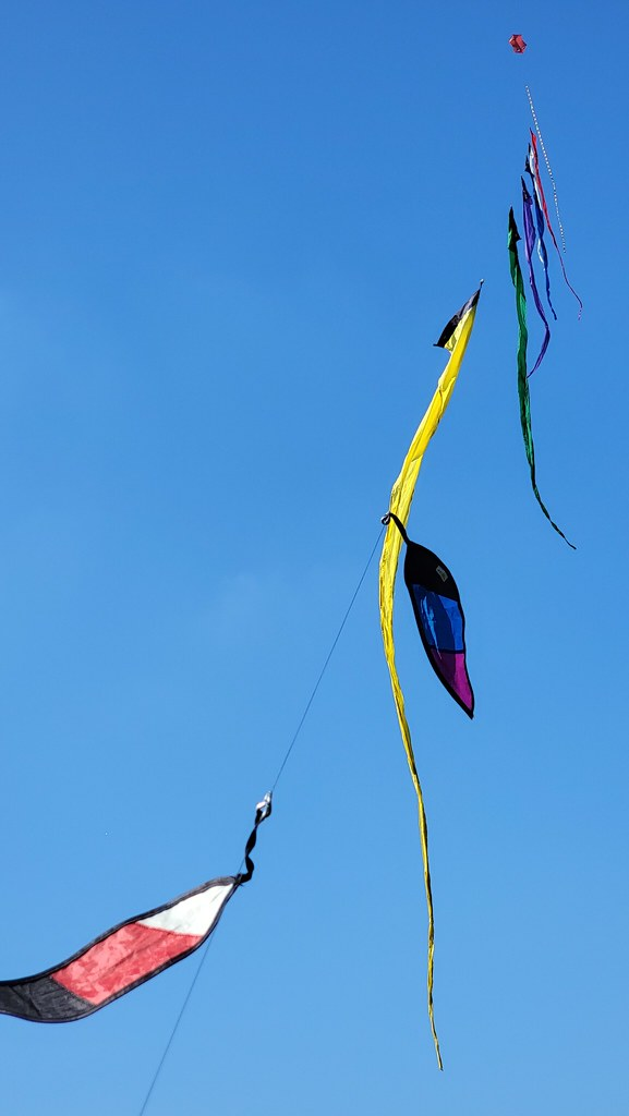 Kite time over WW proving grounds!