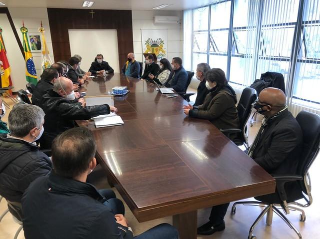 28/06/2021 Reunião com EPL sobre estradas de acesso ao Aeroporto Regional da Serra