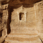 Betyl in niche, the Siq, Jabal Ithlib, Hegra (Madain Salih), Saudi Arabia  (1)