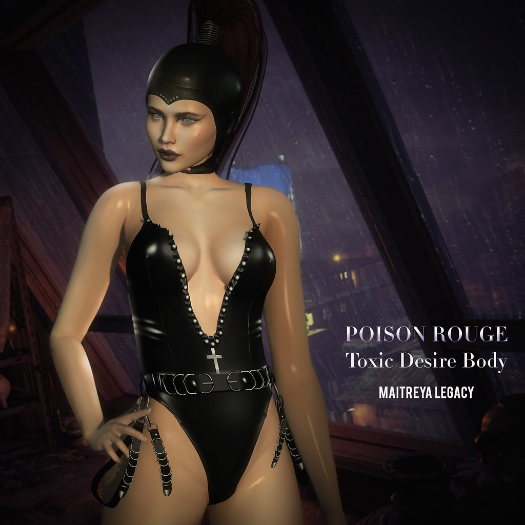 POISON ROUGE Toxic Desire Body @KINKY EVENT