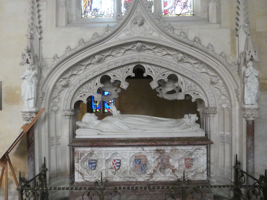 The tomb of Katherine Parr, Sudeley Castle