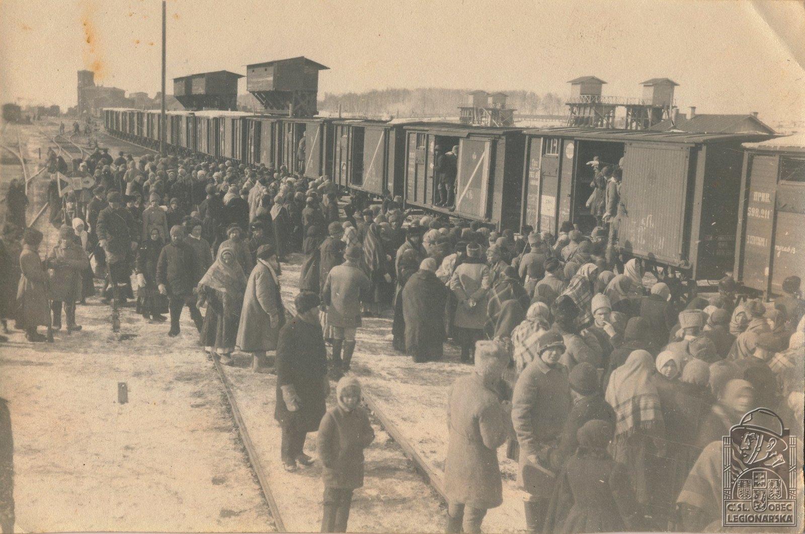 1918. Мобилизация россиян в Камышине