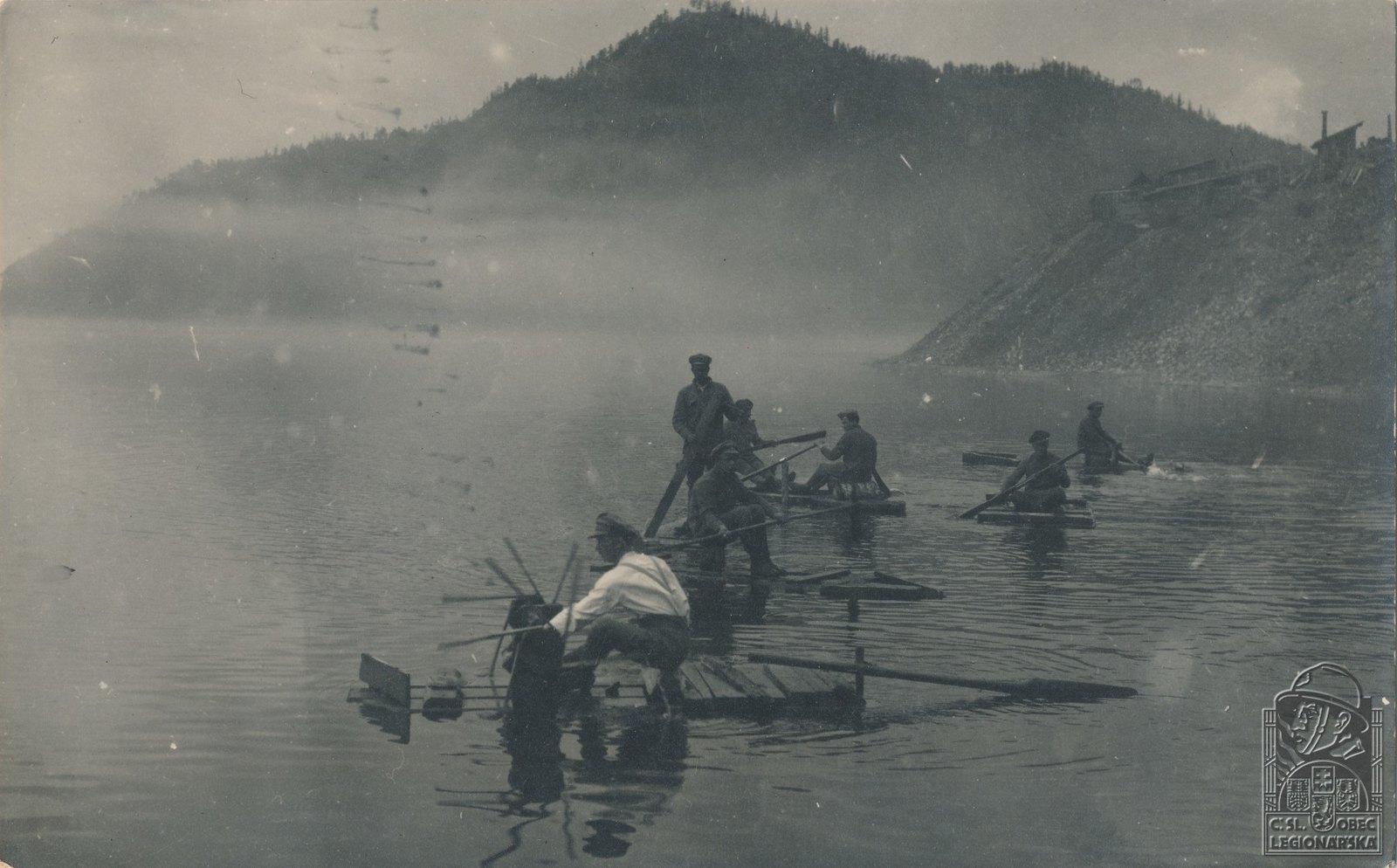 37. 1919. Развлечения на Байкале
