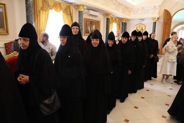 3 мая 2021, Русское духовенство поздравило Патриарха Феофила с Пасхой