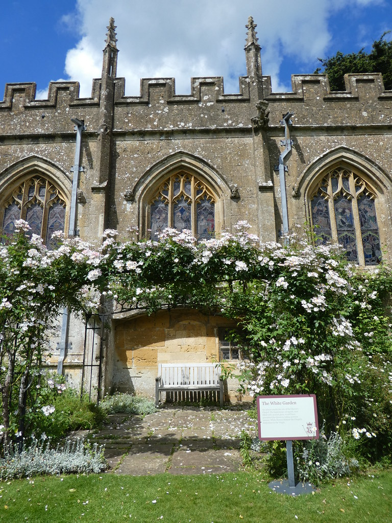 The White Garden, Sudeley Castle