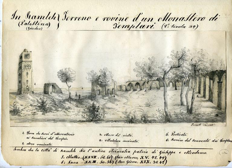 Ramla-White-Mosque-Pierotti-1854-61-ybz-0297-008