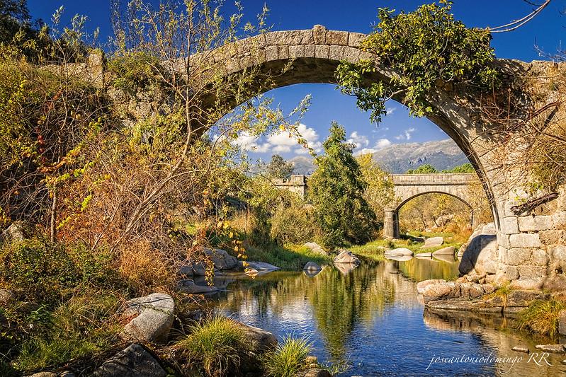 Puente romano de un solo ojo.