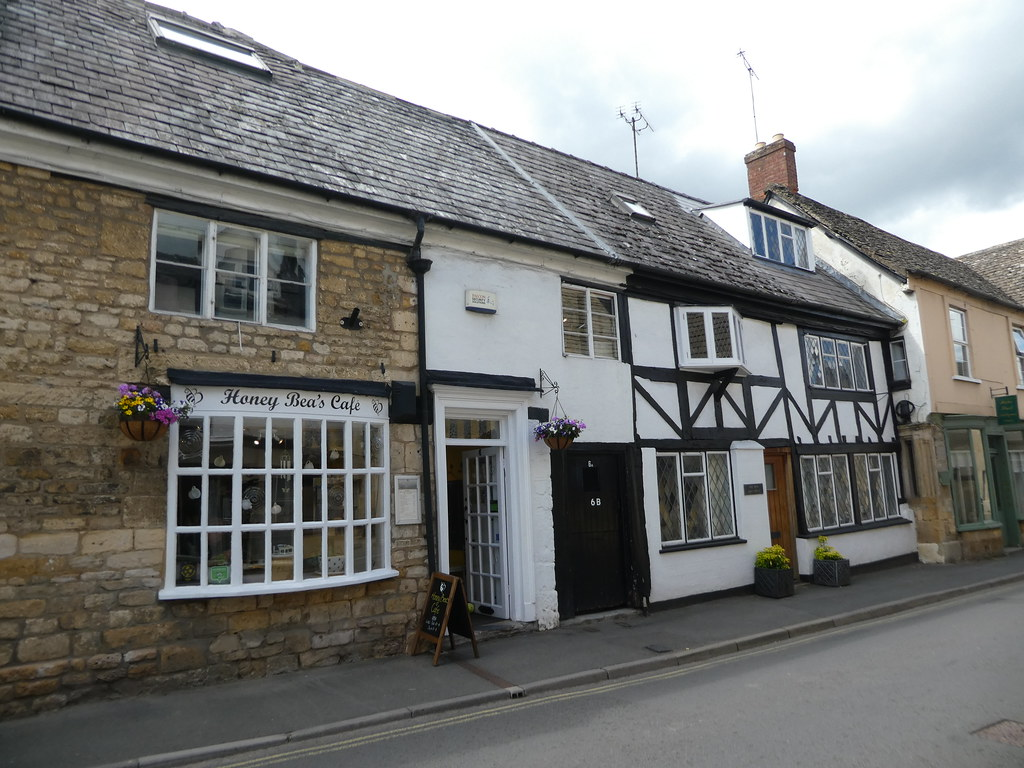 Quaint cottages in Winchcombe, Gloucestershire