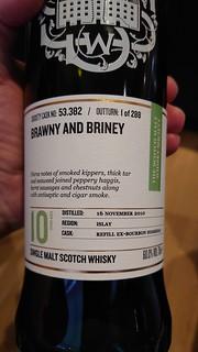 SMWS 53.382 - Brawny and briney
