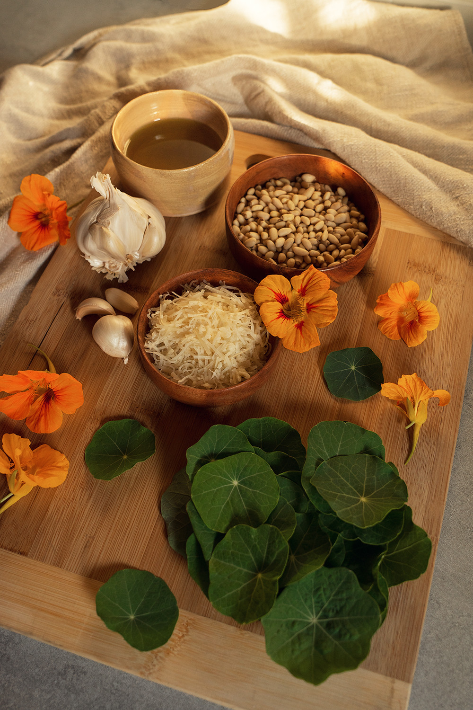 07-nasturtium-pesto-homegrown-farmtotable-recipe-food