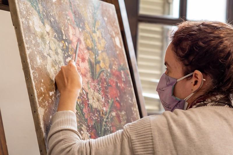 El Museo Genaro Pérez ya recupera obras de arte