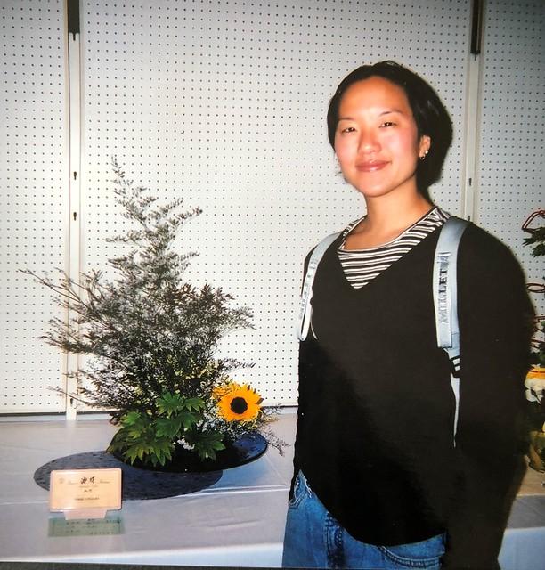 JET Ikebana exhibit