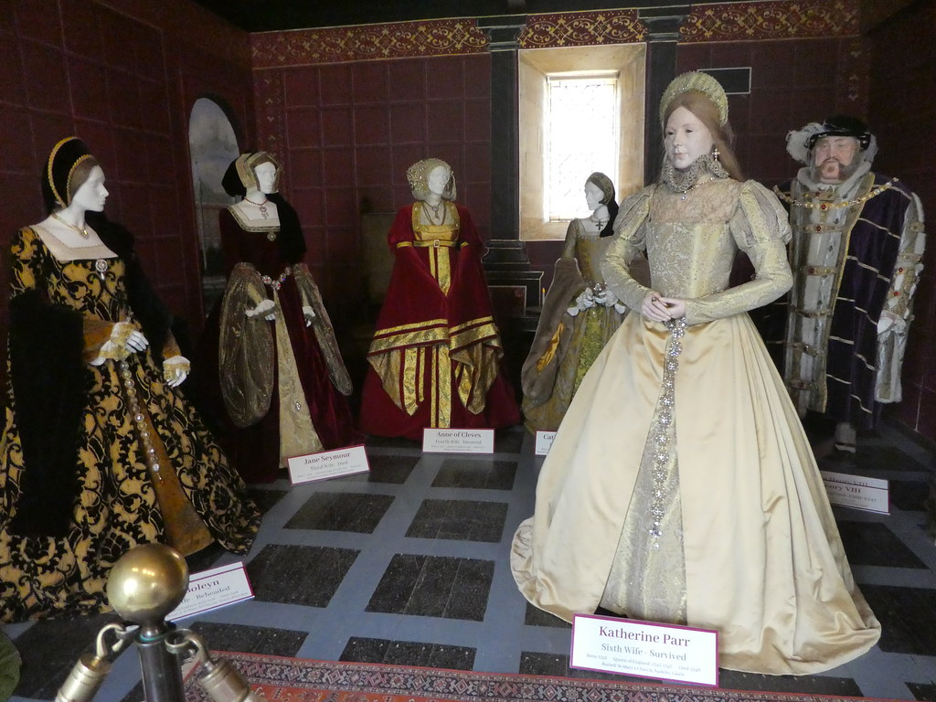 Display of Henry VIII and his wives at Sudeley Castle