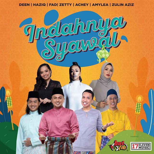 Hot Fm &Amp; 17 Eleven Music Lancar Lagu Raya Salam Dari Jauh &Amp; Indahnya Syawal