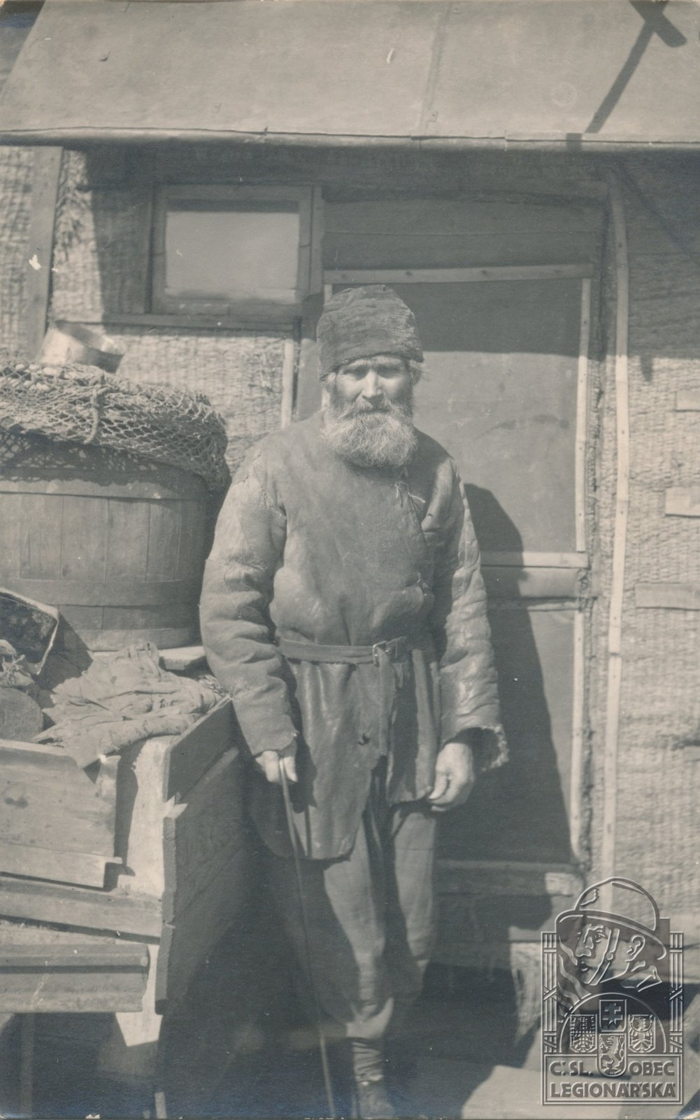 1918. Тип русского рыбака