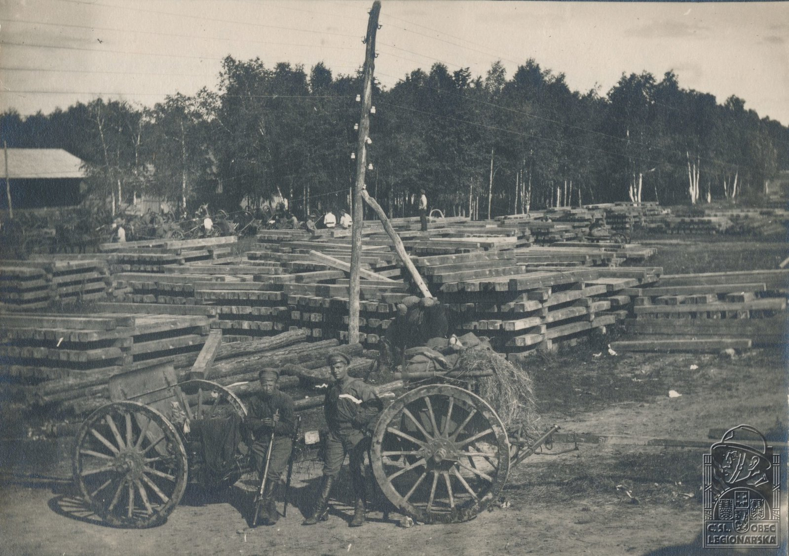 1918. Казаки в Поливаново