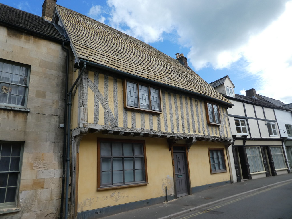 Part timbered buildings in Winchcombe