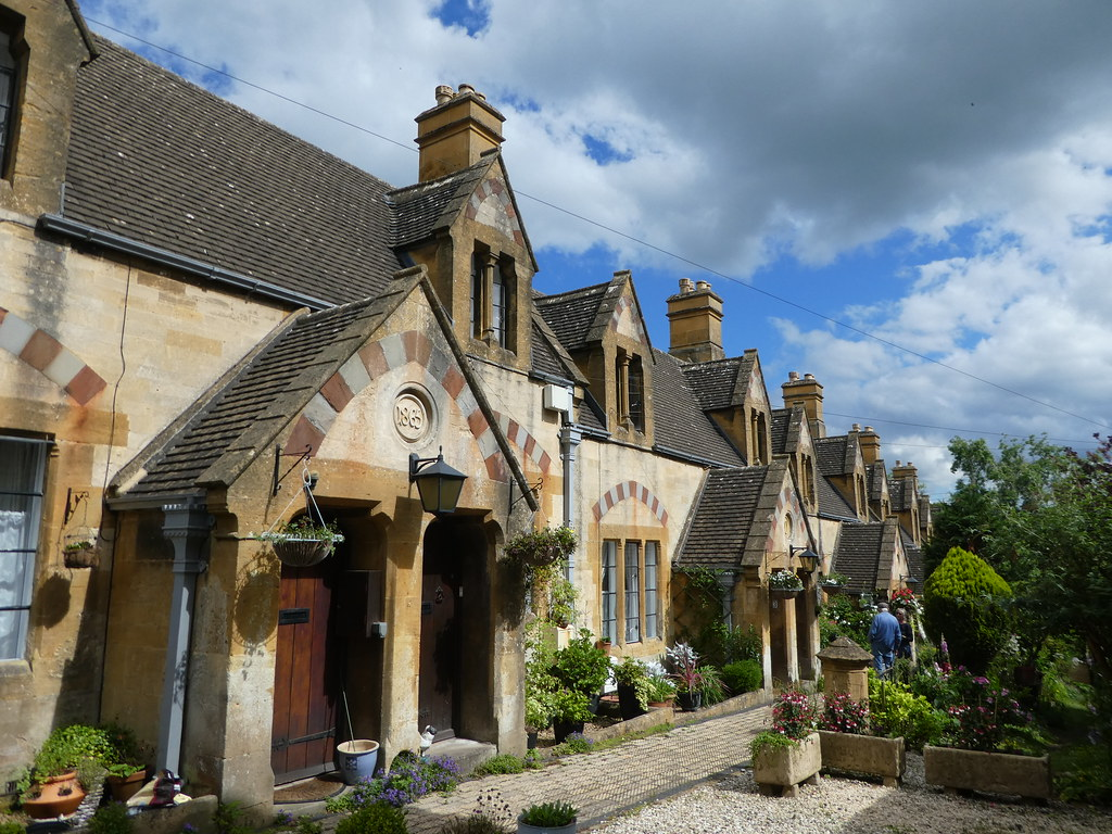 Alms houses in Winchcombe, Gloucestershire