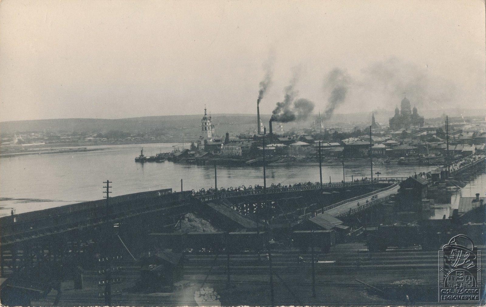 27. 1919. Панорама Иркутска