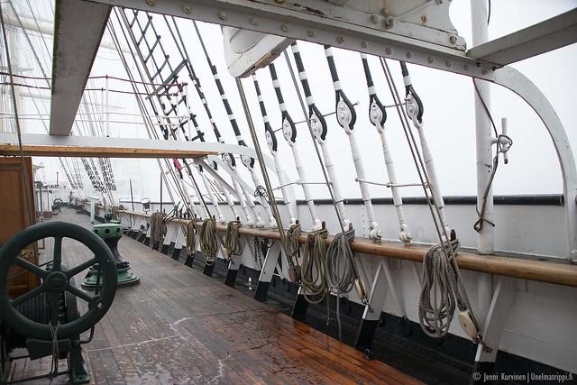 Museolaiva Pommernin kansi