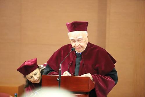 Wręczenie profesorowi Stanisławowi Gryglowi tytułu doktora honoris causa Uniwersytetu kard. Stefana Wyszyńskiego w Warszawie