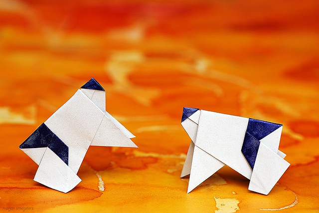Origami Sumo Wrestler (Hideo Komatsu)