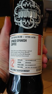 SMWS 24.158 - Spiked Spanish coffee