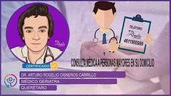 Dr. Arturo Rogelio Cisneros Carrillo Médico Geriatra