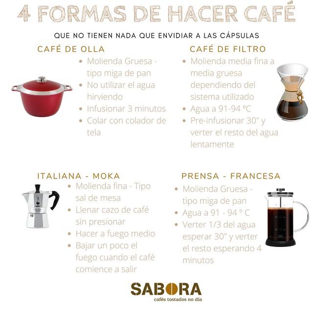 Formas de hacer café que no envidían en nada a las cápsulas