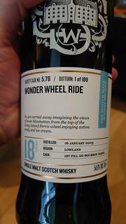 SMWS 5.78 - Wonder Wheel ride