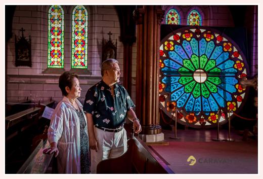 ご結婚40周年記念のロケーションフォト
