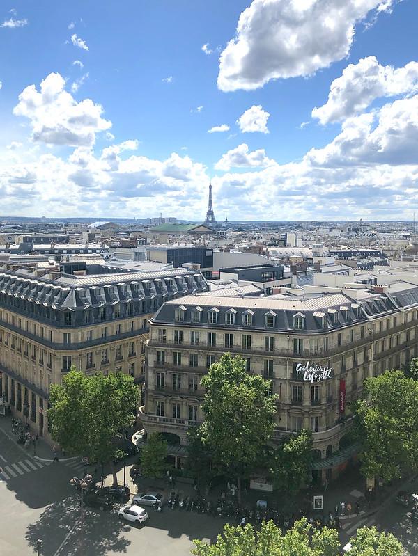 Le Printemps Paris Rooftop Terrace