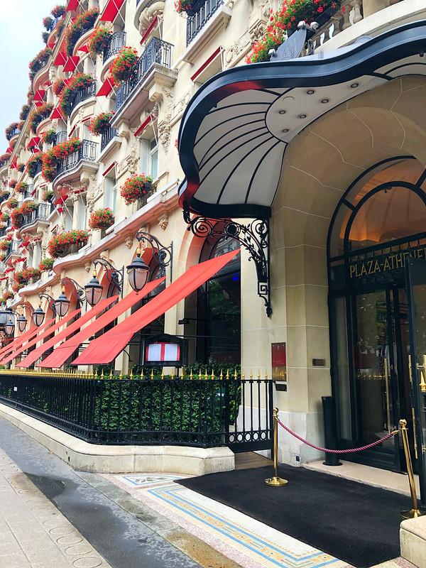 Plaza Athenée Hotel, Paris