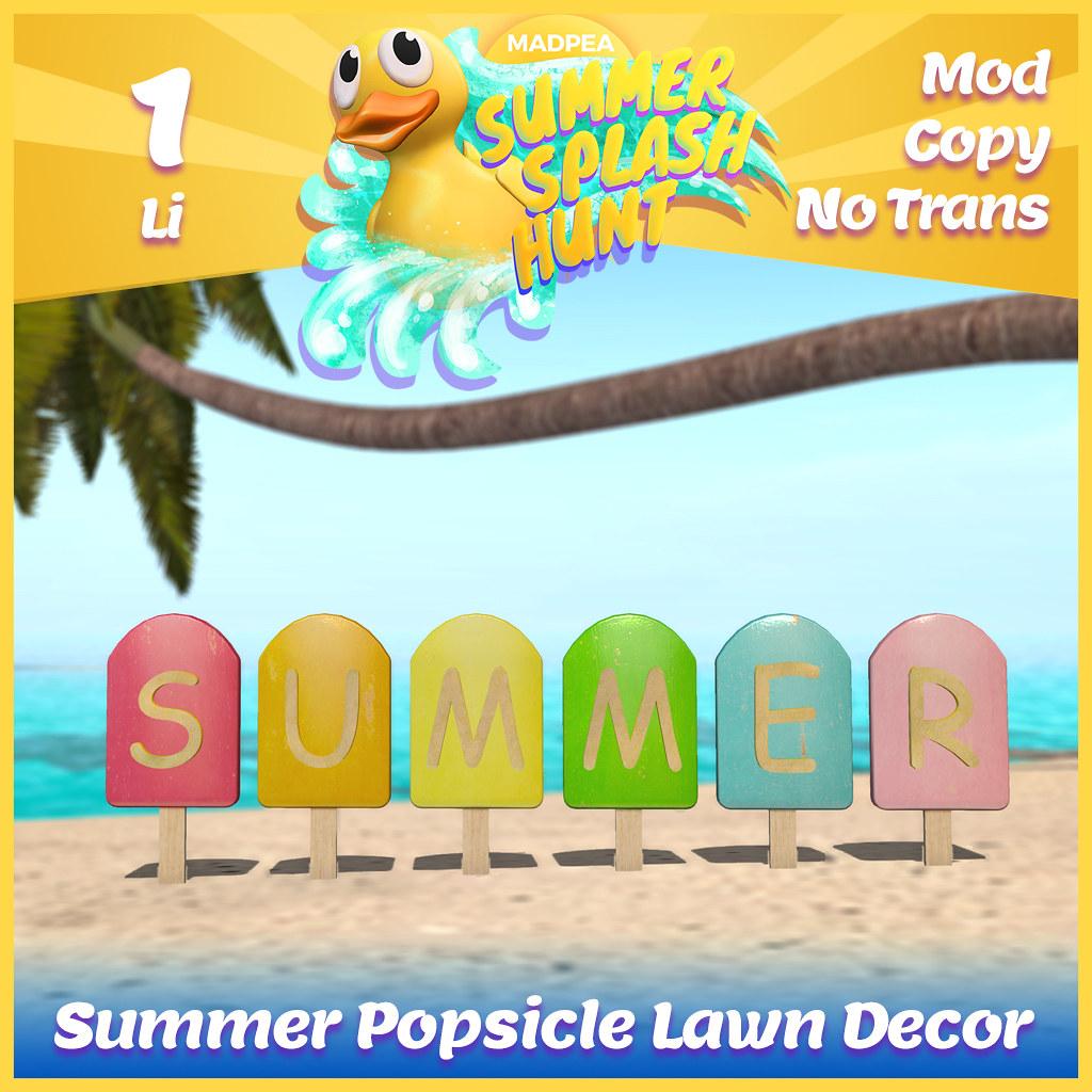 Summer Hunt Prize Reveal: Summer Popsicle Lawn Decor