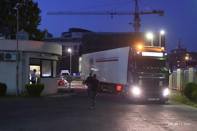 200 hiljada Sinofarm vakcina stiglo u Crnu Goru (01.07.2021.)